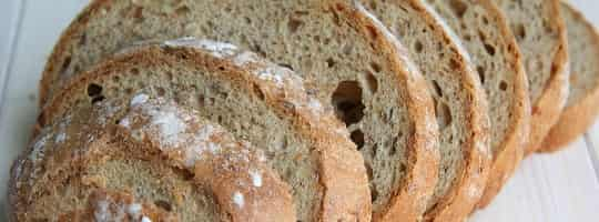 Hvor mange kalorier er det i en brødskive?